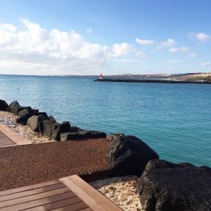 9H30 heure d'arrivée à Fuerteventura
