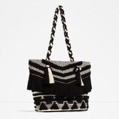Panier Zara noir et blanc 39,95€