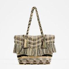Panier de plage Zara 39,95€