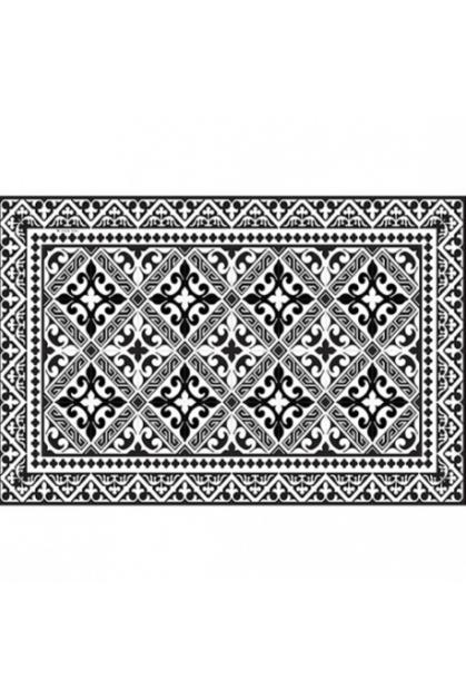 set-de-table-flor-de-lys-noir-pbw22