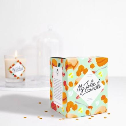 bougie-bijou-parfumee-macaron-caramel