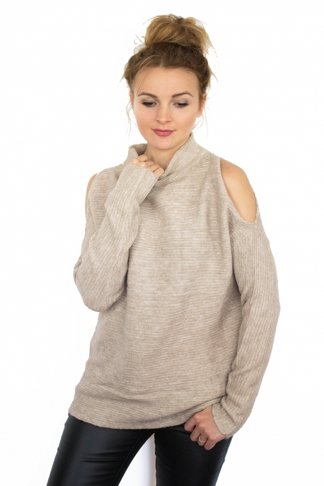 pull-turtleneck-epaules-ouvertes-beige